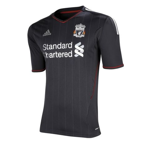 Liverpool 11 12 Jersey de Futbol Visitante Autentico f84c930195282