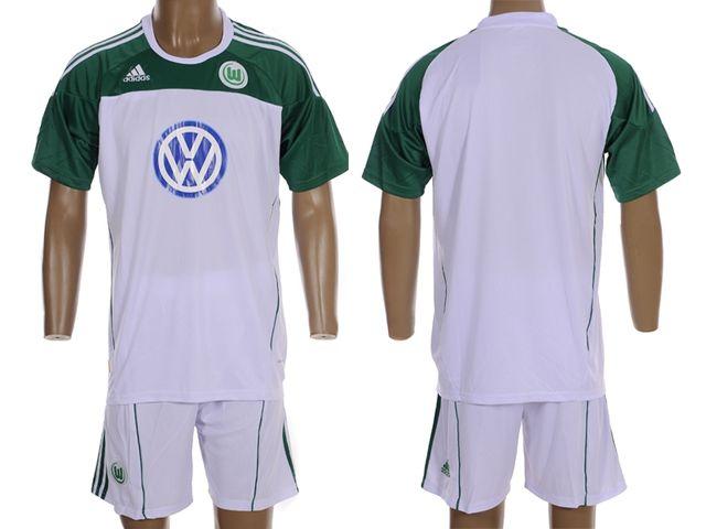 2010-11 Wolfsburg FC Home soccer jersey c93a3b1f6d462